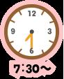 7:30~