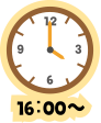 16:00~